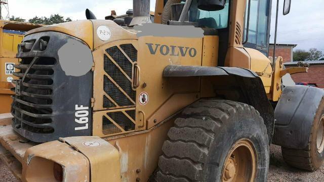 Pá carregadeira Volvo L60F 2012 - Foto 3