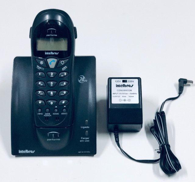 Telefone Sem Fio Intelbras - Ótimo Estado - Foto 2