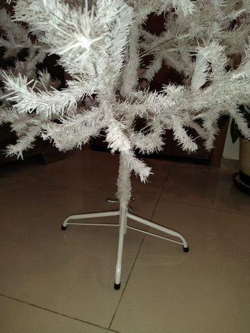 Árvore de natal branca - Foto 3