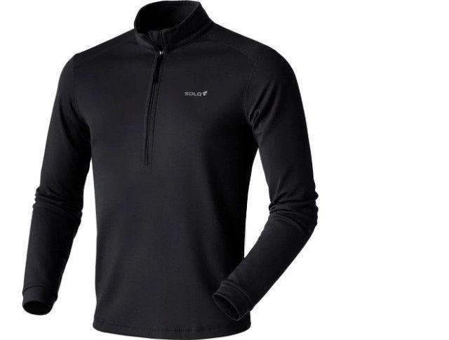 Camisa Segunda Pele Solo X-thermo D-zip Masc. Preta G/L