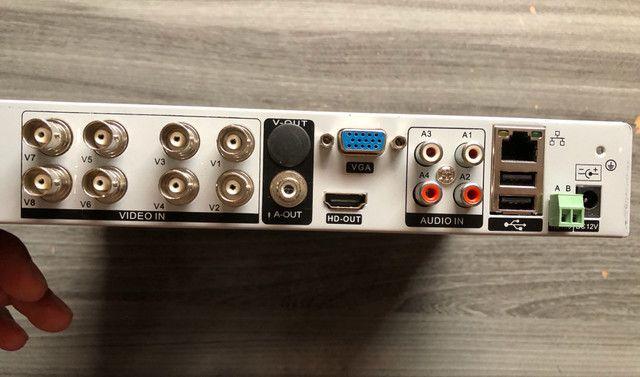 Câmeras de Segurança Sistema de Vigilância Noturna 30mts infravermelho CFTV - Foto 5