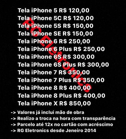 Tela iPhone, Manutenção