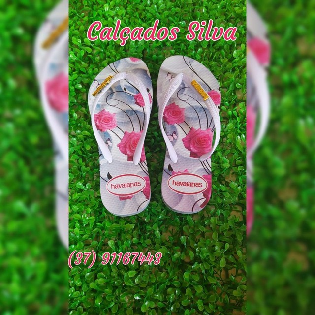 Chinelo floral - Foto 3