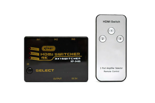 Swith HDMI 3 entradas / 1 saída  - Foto 5