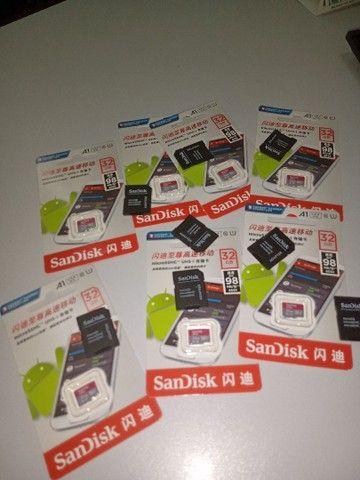 Cartão de memória classe 10 micro 32 gb SanDisk  - Foto 4