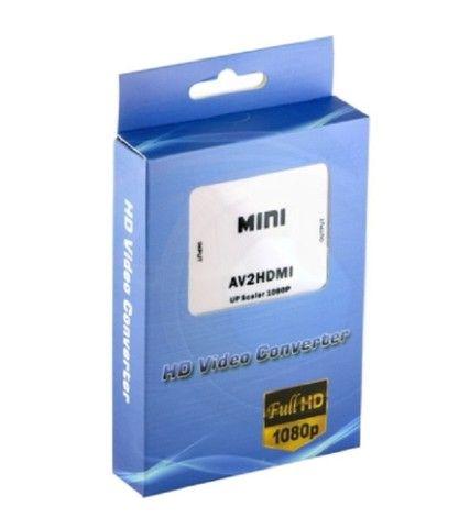 Mini Conversor de Video AV para HDMI - Foto 3