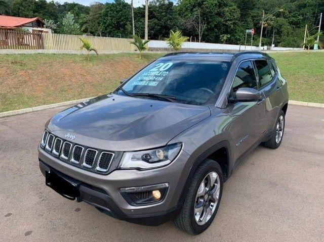 Jeep Compass 2020 4X4 Diesel aceiro troca por Civic Turbo de menor valor!