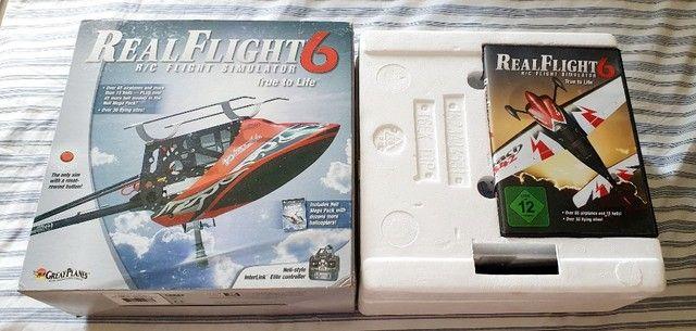 Simulador de aeromodelo RealFlight RF6 original