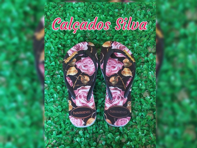 Chinelo floral - Foto 2