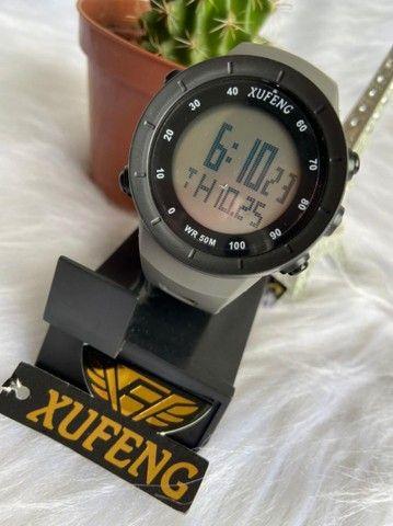 Relógio digital xufeng Prova d'água caixa média  - Foto 4