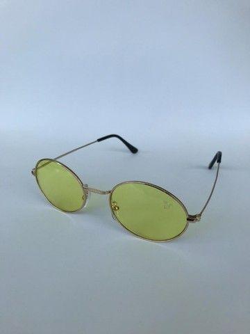 Óculos de Sol Ovalado - Foto 4