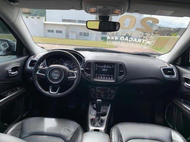 Jeep Compass 2020 4X4 Diesel aceiro troca por Civic Turbo de menor valor! - Foto 6