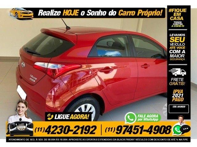 Hyundai HB20 1.6 comfort plus vermelho 16v flex 4p aut. - Foto 4