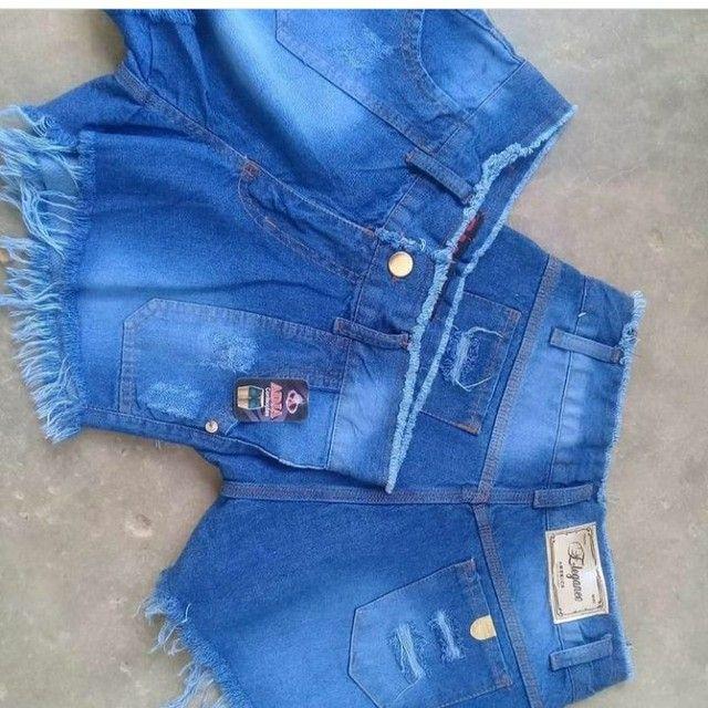 Shorts jeans tamanho 36ao 44