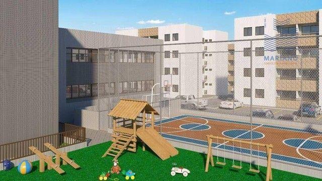 Apartamento com 2 dormitórios à venda, 53 m² por R$ 180.000,00 - Bancários - João Pessoa/P - Foto 3