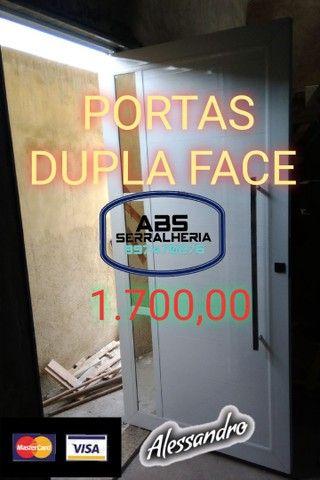 PORTAS EM ALUMÍNIO TOPS