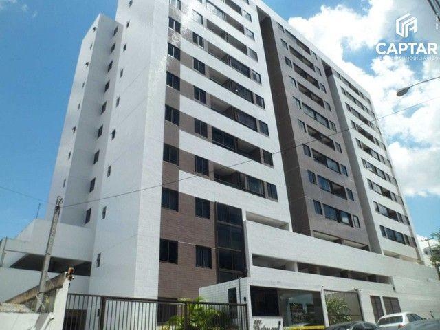 Apartamento 2 Quartos, sendo 1 suíte, 2 banheiros, no Maurício de Nassau, Edf. Delmont Lim