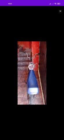 Bicicleta motorizada 80cc muito forte