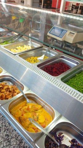 Carro buffet  self service.semi nova - Foto 3