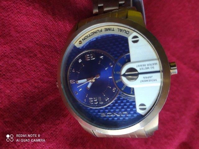 Relógio Masculino da grande marca Lince dourado - Foto 4