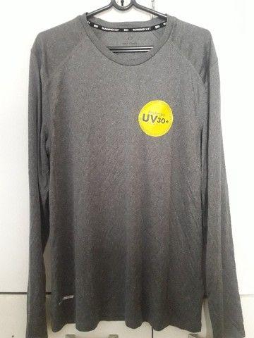Camisa UV proteção Solar Masculina - Foto 3