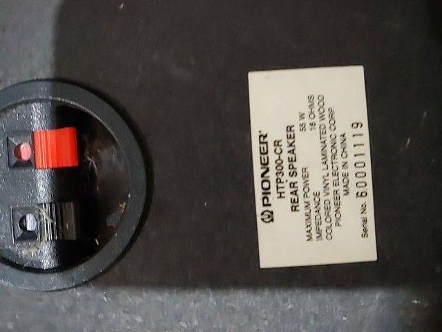 Receiver poinner 5.1 vsx-455 com defeito - Foto 3
