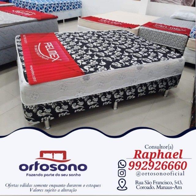 ## Cama cama casal + brinde de travesseiros