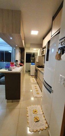 apartamento de 3 qts com escaninho, armários, porcelanato, condomínio reserva da amazônia - Foto 19