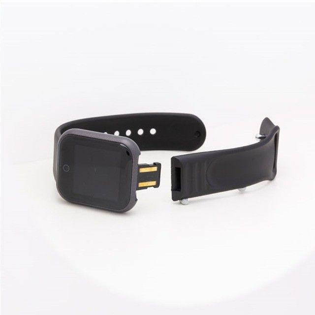 Smartwatch D20/Y68 com Monitor cardiaco e Bluetooh resistente a água para Android/IOS - Foto 6