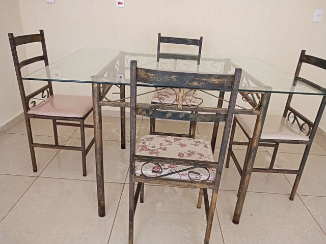 Mesa 4 cadeiras - Foto 4
