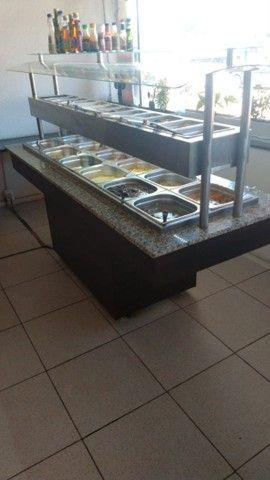 Carro buffet  self service.semi nova - Foto 2