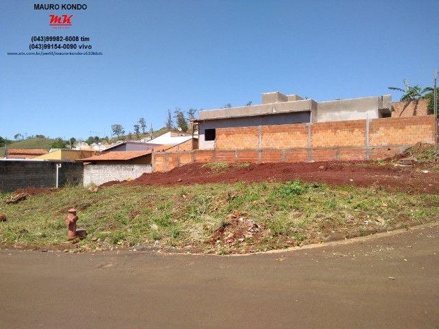 Terreno comercial de esquina com 361,00 m2 no residencial Casagrande em Ibiporã. - Foto 3