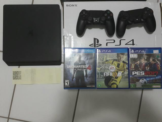 PS4 Slim ( Só vendo completo)