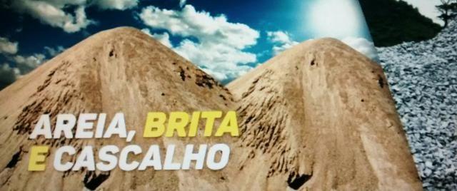 Areia - Brita e Cascalho