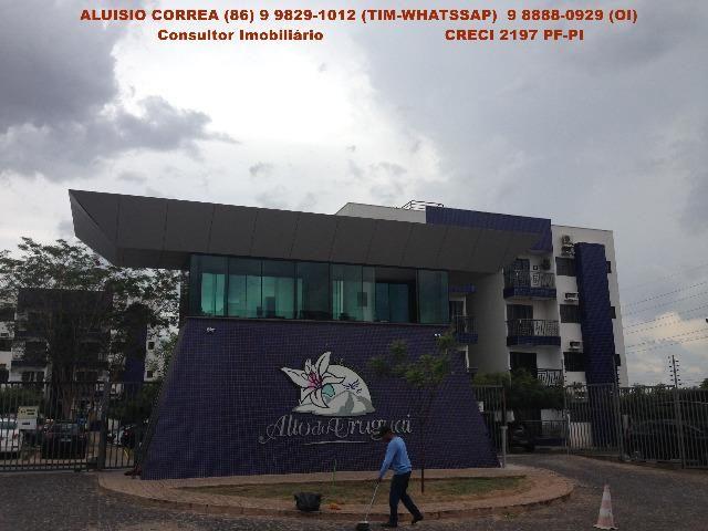 Apartamento Próximo a Uninovafapi - Condomínio Alto do Uruguai - Tel. 9 9829 1012
