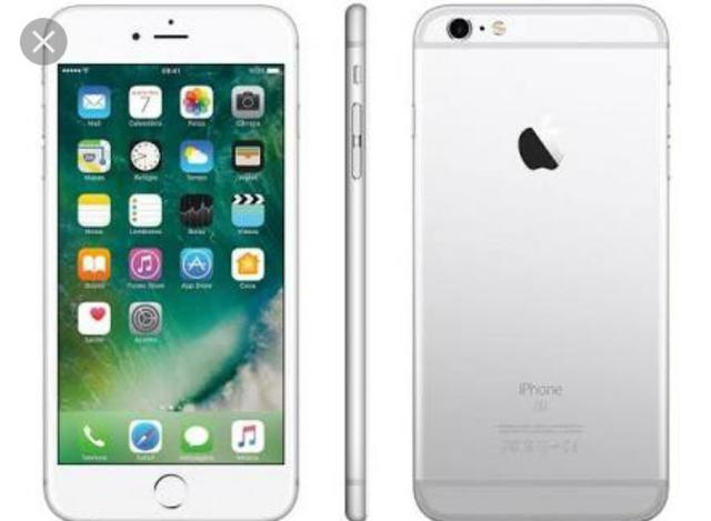 IPhone 6s Plus 128gb branco/prata