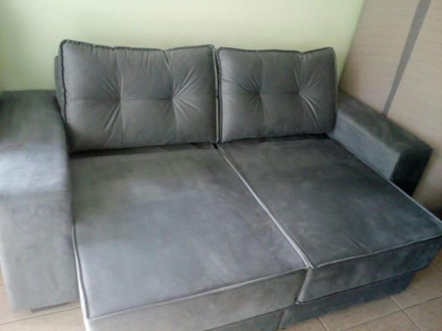 Vendo Sofá Novo Retrátil