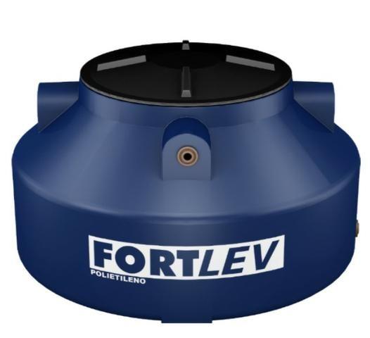 Caixa d'água Fortlev Tanque 500L com tampa roscável e com flange
