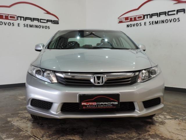 Honda Civic LXS 1.8 Flex I-Vtec Autom. _ Completo - Foto 4