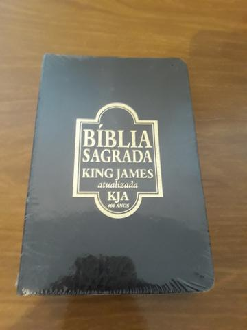 Biblia Sagrada - king James Atualizada (lacrada)