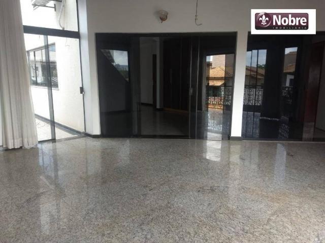 Sobrado com 4 dormitórios para alugar, 289 m² por r$ 3.520/mês - plano diretor sul - palma - Foto 4