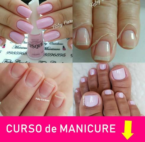 Curso de manicure e fibra de vidro - Foto 6