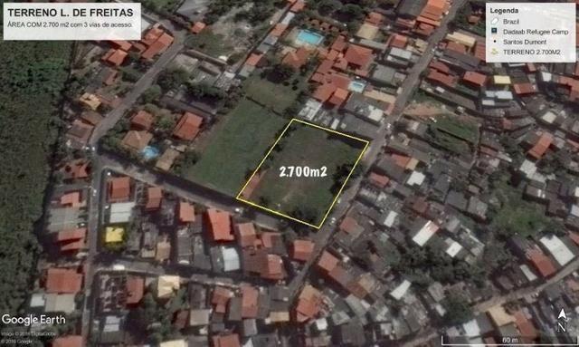 Terreno 45x60 2700M² em Lauro de Freitas Murado, escriturado registrado - Foto 2