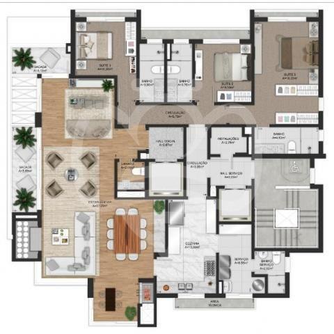 Apartamento à venda com 3 dormitórios em Bela vista, Porto alegre cod:AP010879 - Foto 5