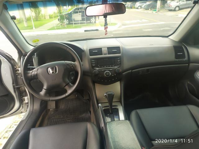 Lindo Honda Accord 2005 V6 Top de linha! - Foto 2