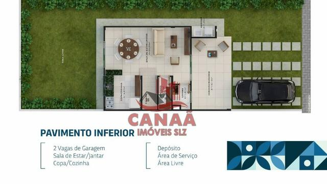 O Sonho do Novo Lar | Casas Duplex c/ 3 qtos | Acabamento no Porcelanato - Foto 10