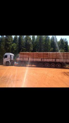 Vendo conjunto vw 19-320 mais carreta 3 eixos - Foto 12