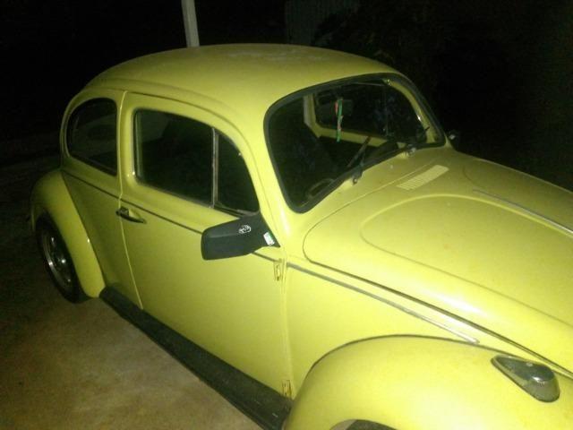 Fusca amarelo 1977