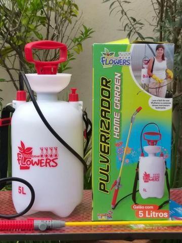 Pulverizador Flowers 5 litros -Com ele o jardim da sua casa nunca mais será o mesmo
