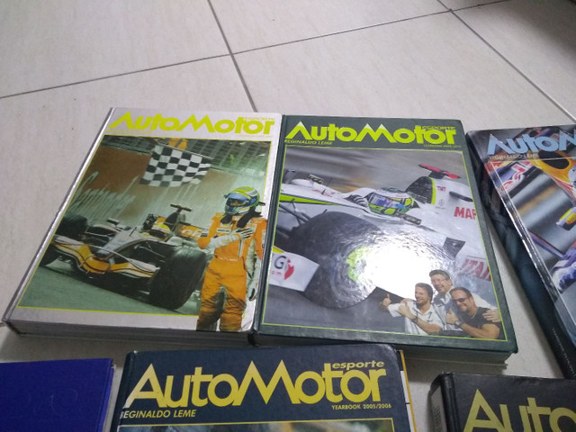 Fórmula 1 - Livro Automotor Reginaldo Leme - Foto 4